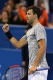 Tennisspeler Grigor Dimitrov Stock Afbeeldingen