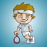Tennisspieler Stockfoto