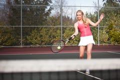 Tennisspieler Stockfotografie