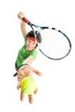 Tennisspieler Stockbild