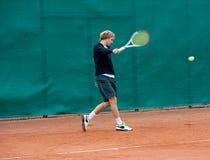 Tennisspieler Lizenzfreies Stockfoto