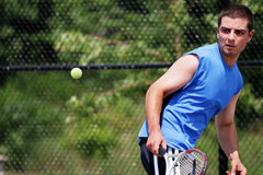 Tennisspieler Lizenzfreie Stockbilder