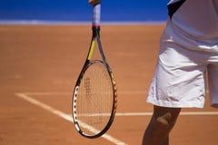 Tennisspieler in Atp-Meister Stockbild