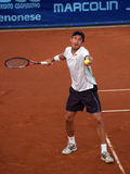 Tennisspieler Konstantinos-Economidis (GRE) Stockbild
