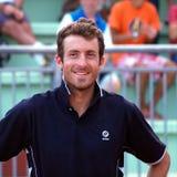 Tennisspieler Konstantinos-Economidis (GRE) Stockfoto