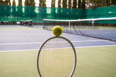 Tennissport Arkivfoton