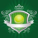Tennissport-Auslegungelement Lizenzfreies Stockfoto