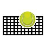 Tennissportdesign lizenzfreie abbildung