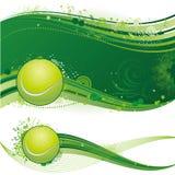 Tennissporthintergrund Lizenzfreie Stockfotografie