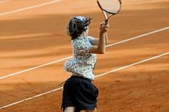 Tennistätigkeit Lizenzfreies Stockbild