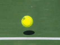 Tennistijd stock foto's