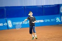 Tennistoernooien voor prijzen van Elena Vesnina Stock Afbeeldingen