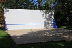 tennisvägg Arkivbilder