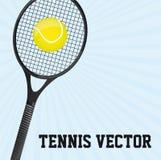 Tennisvektor lizenzfreie abbildung