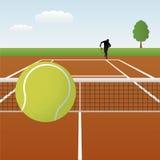 tennisvektor Arkivfoton