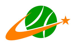 Tennisverein Lizenzfreies Stockfoto