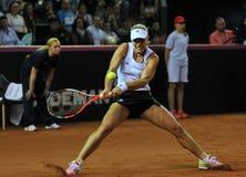 Tennisvrouwen WTA 3 gerangschikte Duitse speler Angelique Kerber Stock Afbeelding