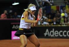 Tennisvrouwen WTA 3 gerangschikte Duitse speler Angelique Kerber Stock Fotografie