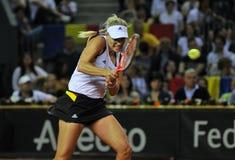 Tennisvrouwen WTA 3 gerangschikte Duitse speler Angelique Kerber Stock Afbeeldingen
