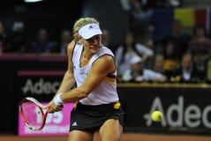 Tennisvrouwen WTA 3 gerangschikte Duitse speler Angelique Kerber Stock Foto