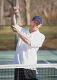 Tenniswinkelstückschmerz Stockfotografie
