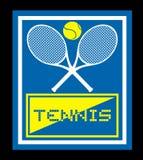 Tenniszeichen Stockbild