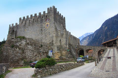 Tenno Castle. Italy Royalty Free Stock Images