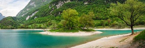 Tenno lake (Trentino Alto Adige Italy) Royalty Free Stock Photography