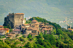 Tenno, Trentino Alto Adige (Italien) Lizenzfreie Stockfotos