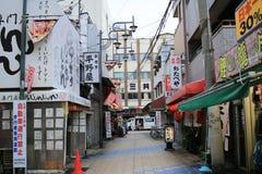 Tennoji district Tsutenkaku Stock Images