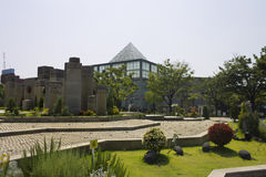 Tennoji Parkpyramide Stockfotografie