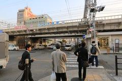 The Tennoji station Stock Photography