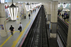 Tennoji subway station Stock Photography