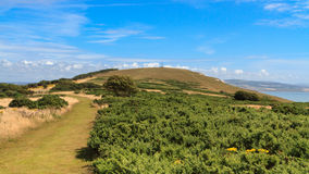Tennyson κάτω, το Isle of Wight Στοκ εικόνα με δικαίωμα ελεύθερης χρήσης