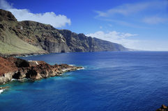 Teno in Tenerife. Coast of Teno in Tenerife, Canary Islands Stock Image