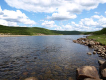 tenojoki ποταμών Στοκ Φωτογραφία