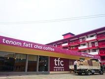 Tenom Fatt Choi Coffee Factory immagine stock libera da diritti