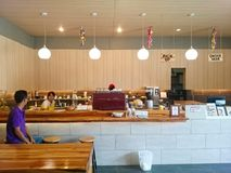 Tenom Fatt Choi Coffee Factory fotografie stock libere da diritti