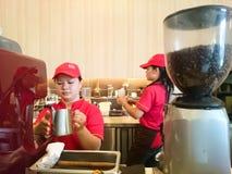 Tenom Fatt Choi Coffee Factory fotografia stock