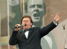 Tenor Stanislav Leontiev Royalty Free Stock Images