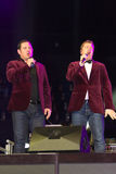 Tenors of I Quattro at Sixday-Nights Z�rich 2011 Royalty Free Stock Photo