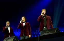 Tenors of I Quattro at Sixday-Nights Zuerich 2011 Royalty Free Stock Photography