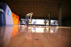 Tenpin Bowling stock photography