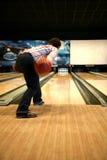 Tenpin-Bowlingspiel Lizenzfreies Stockfoto