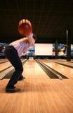Tenpin-Bowlingspiel Stockfoto