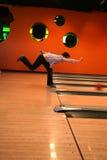 Tenpin-Bowlingspiel Lizenzfreie Stockfotografie