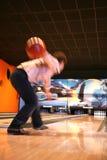 Tenpin-Bowlingspiel Lizenzfreie Stockbilder