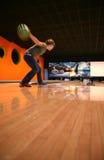 Tenpin-Bowlingspiel Stockfotos