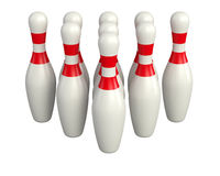 Tenpin illustration Royalty Free Stock Image