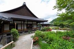 Tenryu籍寺庙在京都,日本 库存照片